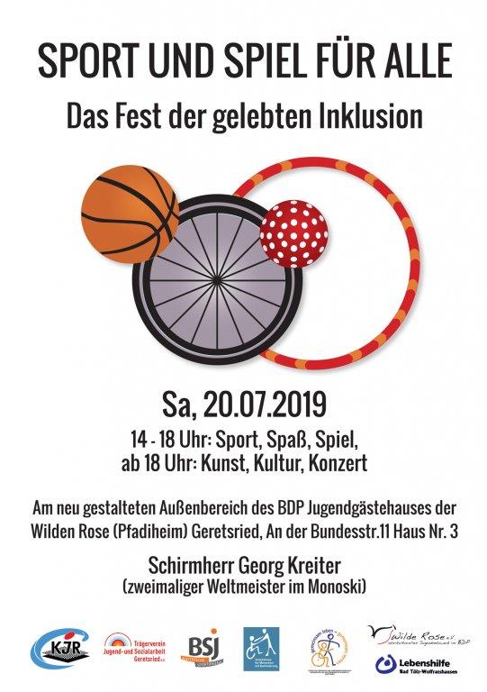 Sport und Spiel für alle – Das Fest der gelebten Inklusion